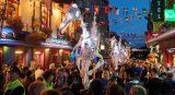 Street parade from Galway International Arts Fair