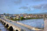 View of Thomond Park from King Johns Castle, Limerick